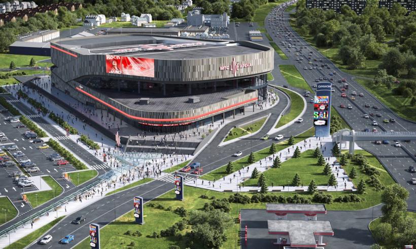 В Одинцово построят концертный зал на 8500 зрителей