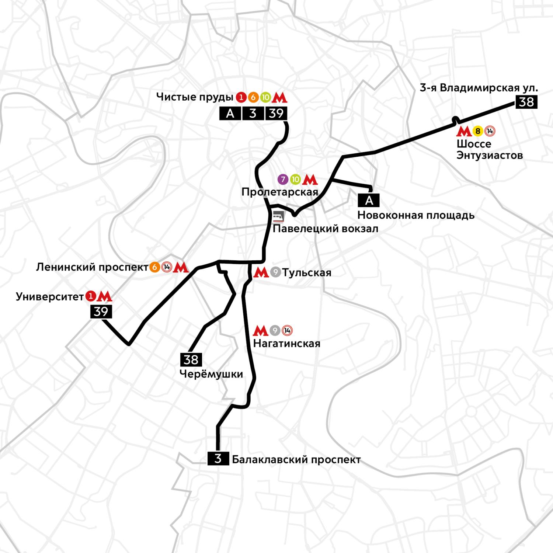 Стало известно, как изменятся маршруты трамваев после окончания работ у Павелецкого вокзала
