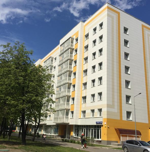 В Тимирязевском районе завершается строительство дома по реновации