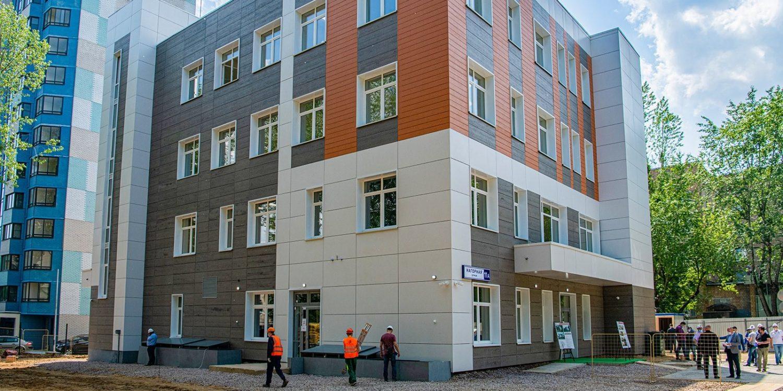 Центр социального обслуживания в районе Котловка откроют в сентябре