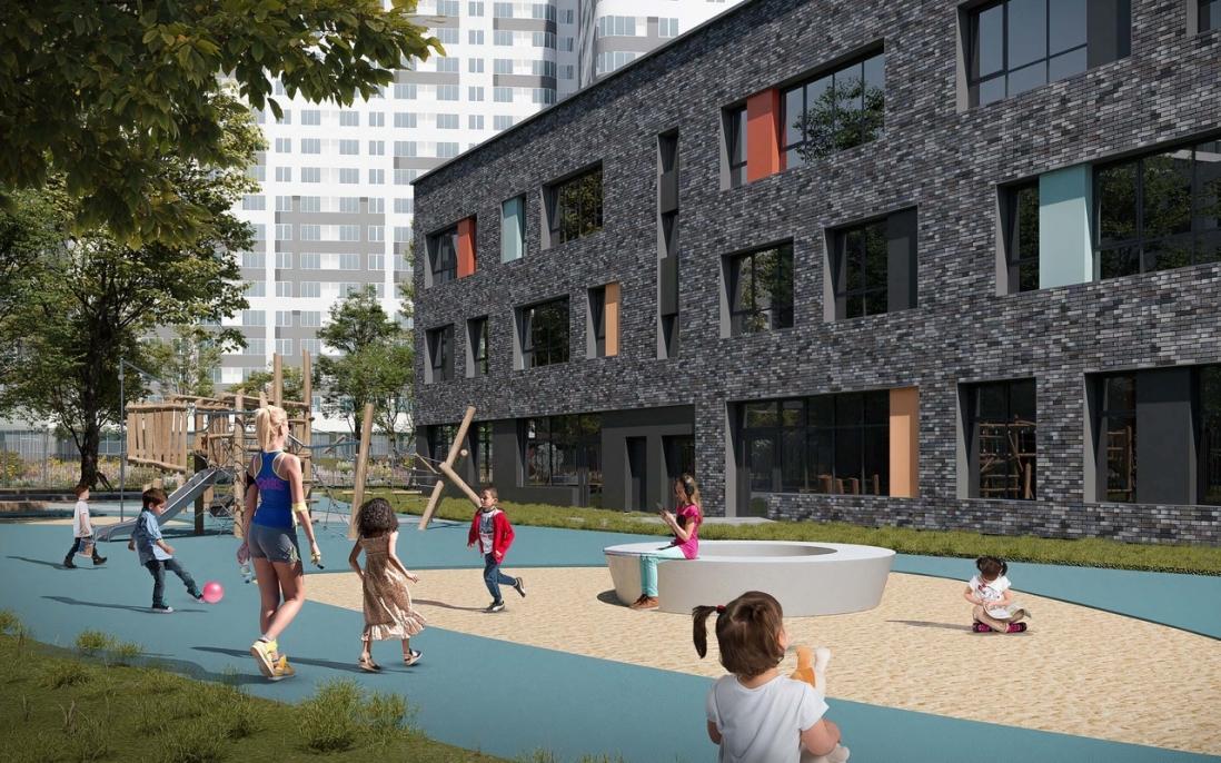 Детский сад на 330 мест построят в районе Лефортово