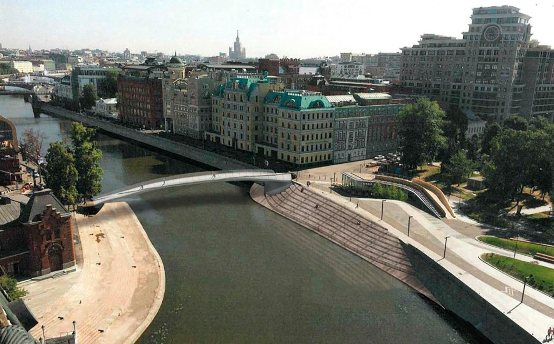 В районе Якиманка планируется построить новый пешеходный мост