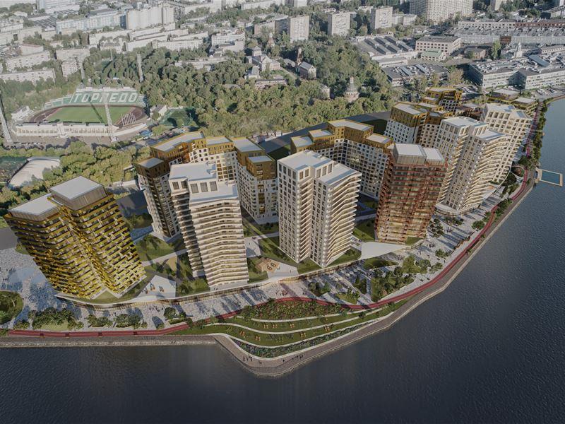 Жилой комплекс построят на Симоновской набережной