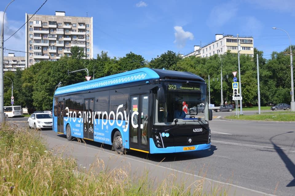 Электробусы начали работать еще на четырех маршрутах