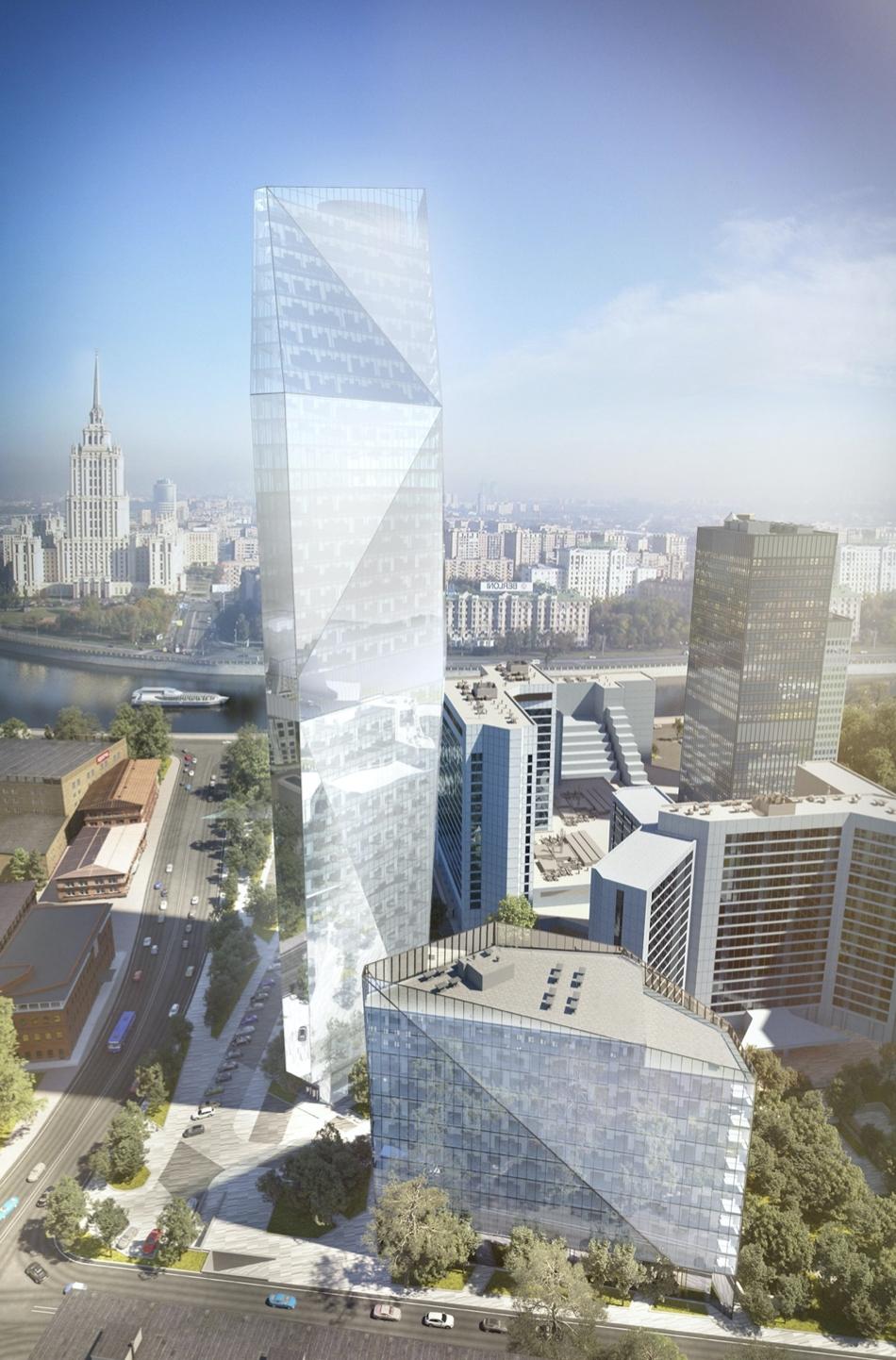 В составе Центра международной торговли построят 200-метровую башню