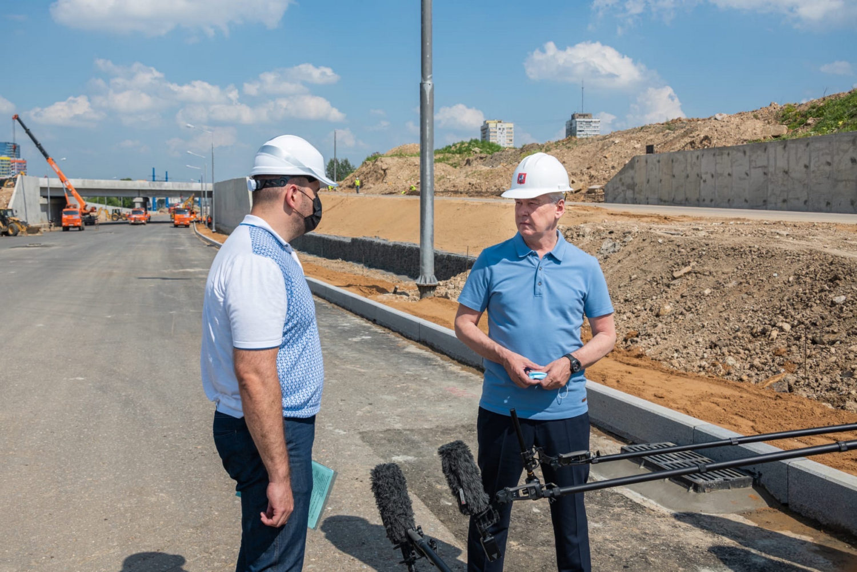 Строительство проспекта Генерала Дорохова завершат до конца года