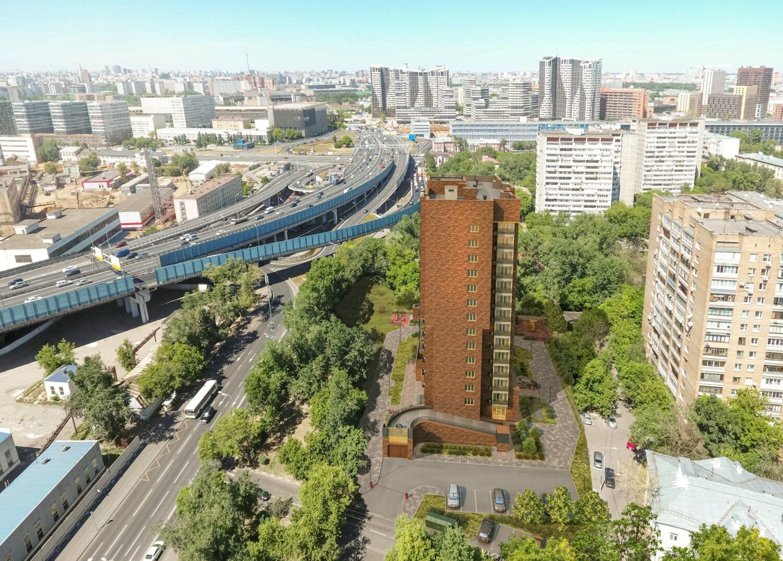 В Лефортово началось строительство дома на 102 квартиры по реновации