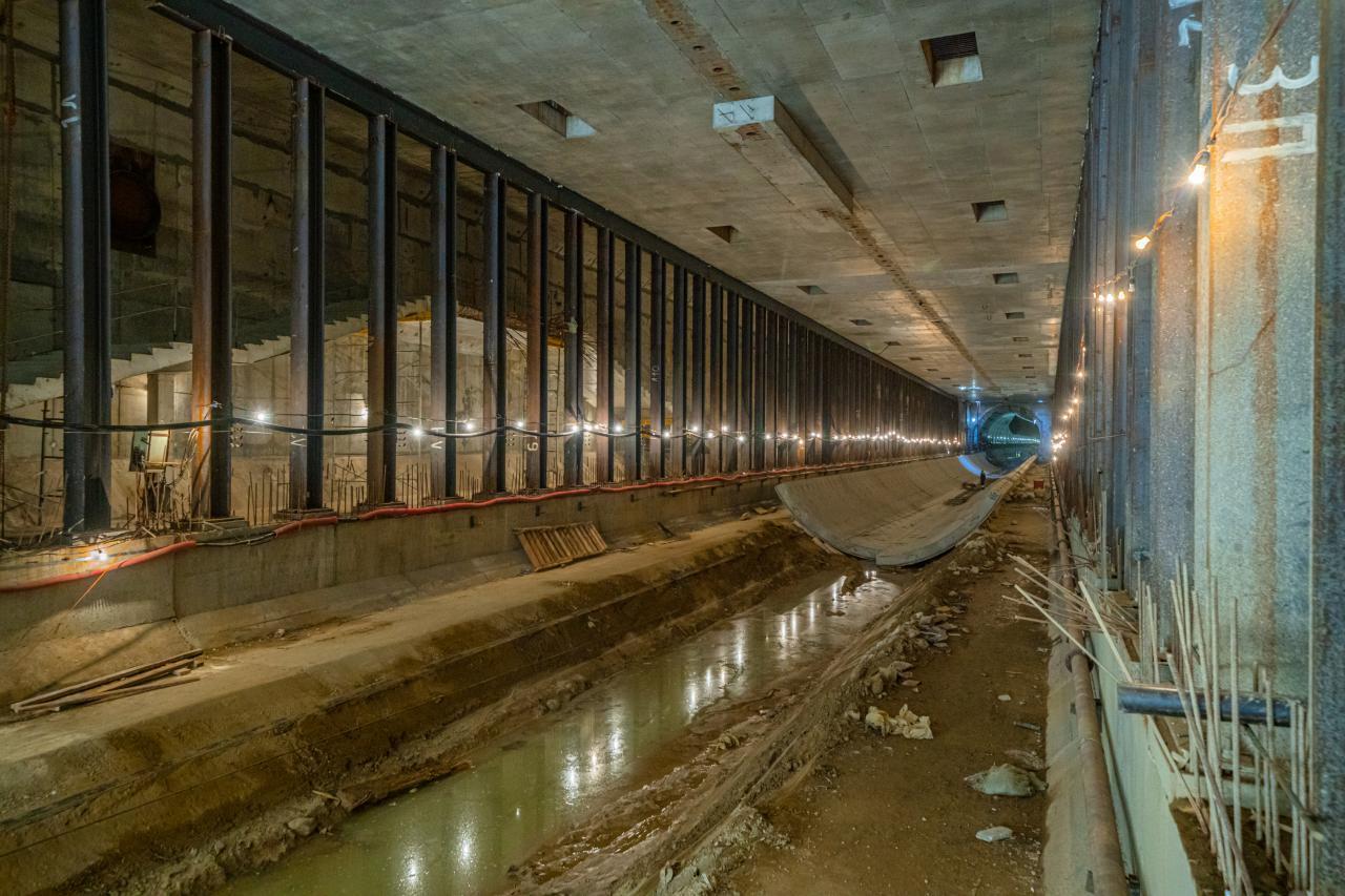 Началась проходка последнего тоннеля на юго-западном участке БКЛ