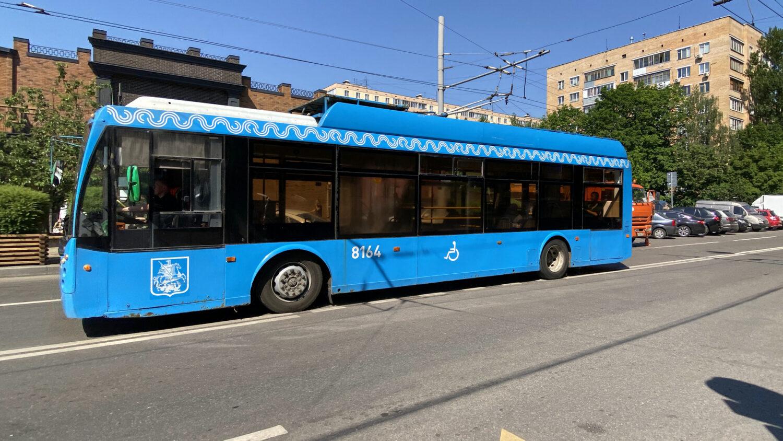 В Москве закрывается троллейбусное движение