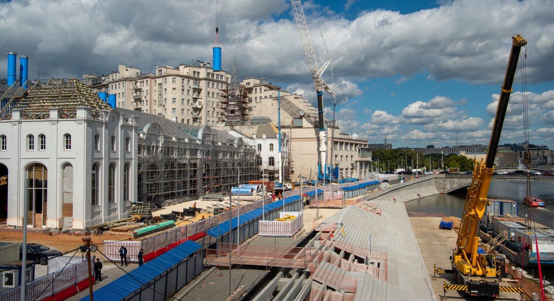 Завершить реставрацию ГЭС-2 планируется в 2021 году