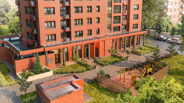 Жилой дом на 66 квартир по реновации введут в Нагорном районе в 2021 году