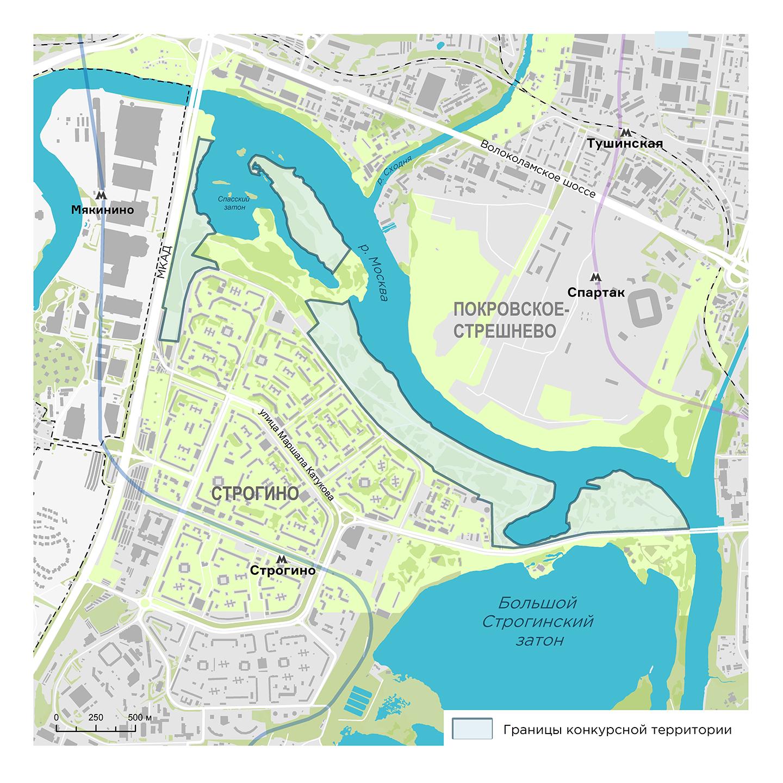 Заявки на конкурс по развитию набережной в Строгино начнут принимать в октябре