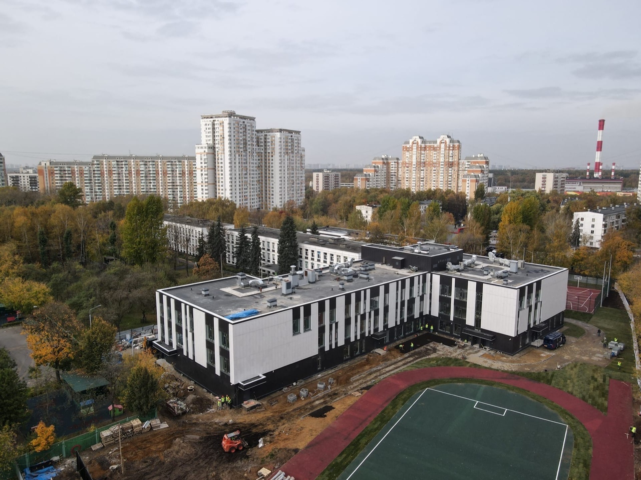Корпус школы №1002 в Солнцево примет первых учеников в начале 2021 года