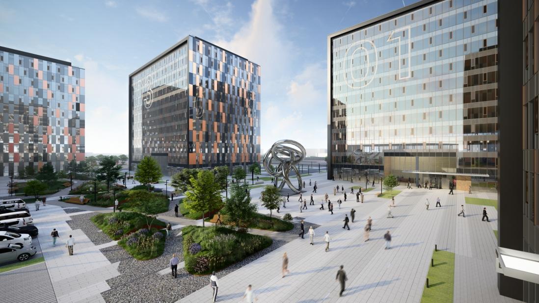 Бизнес-центр с панорамным остеклением построят в Останкинском районе