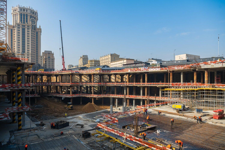 Собянин рассчитывает завершить благоустройство Павелецкой площади в 2021 году