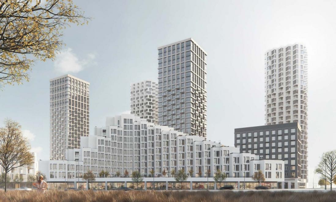 Согласованы проекты двух кварталов в южной части бывшей промзоны ЗИЛ
