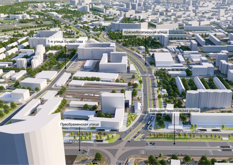 Представлен проект реконструкции Краснобогатырской улицы