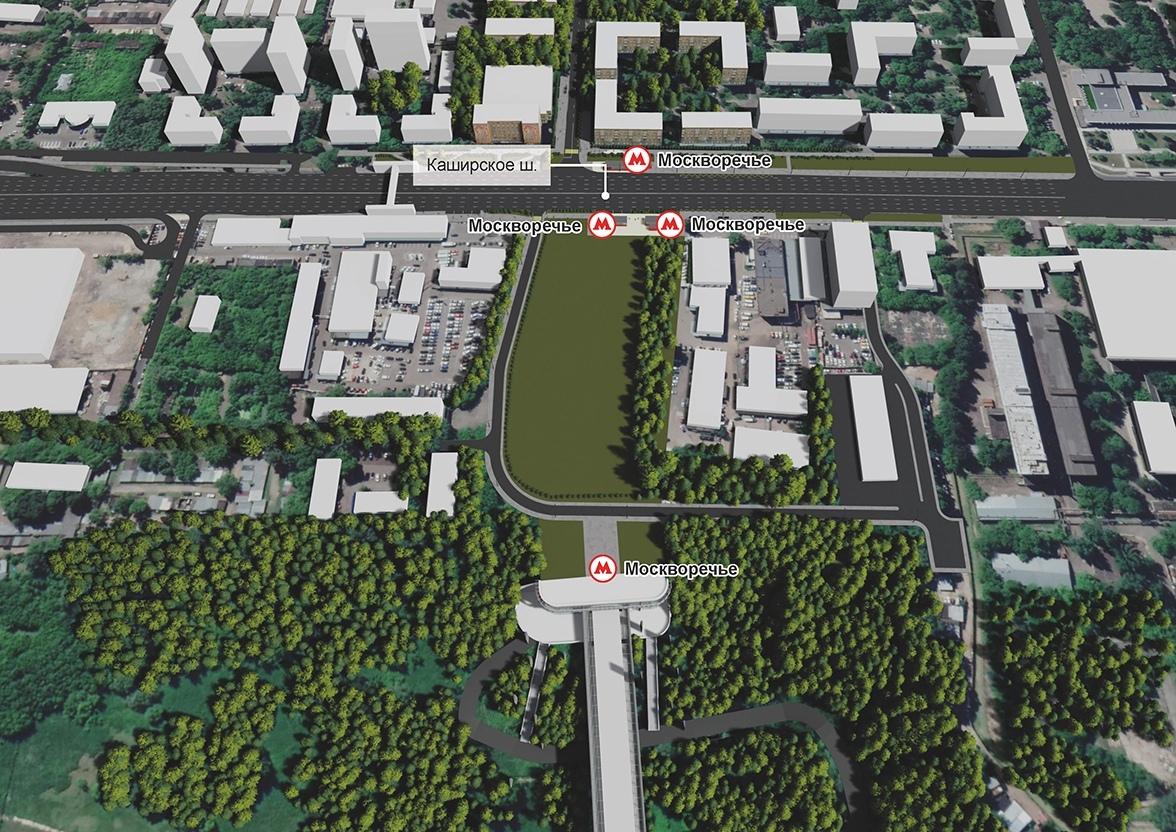 Представлен окончательный проект Бирюлевской линии метро