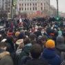 Более 1000 человек задержали в субботу в Москве