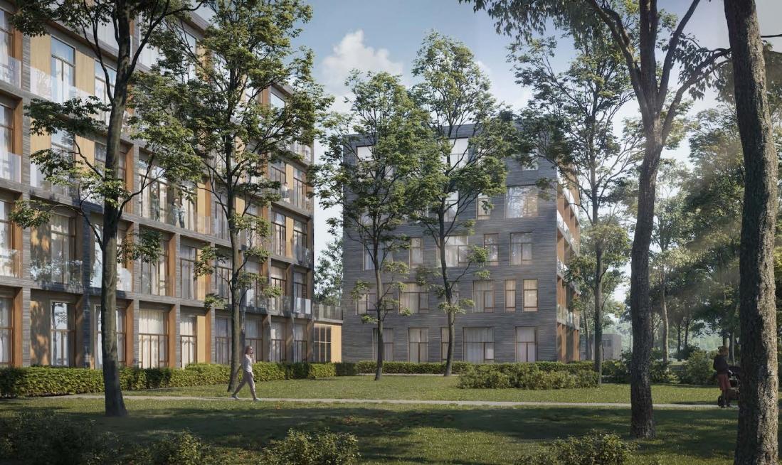 В Южном Тушино на месте заброшенной гостиницы построят жилой комплекс