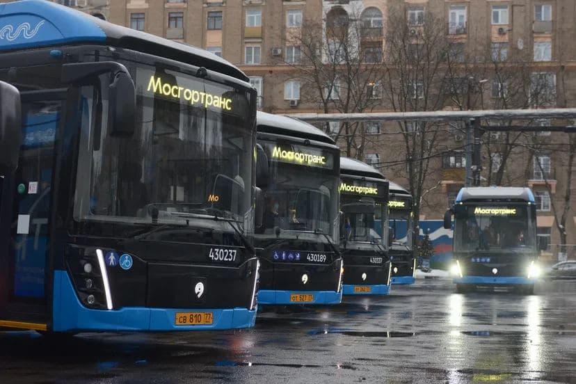 Парк московских электробусов увеличился до 600 единиц