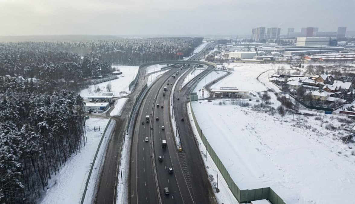 На Минском шоссе открыто движение по новой разворотной петле