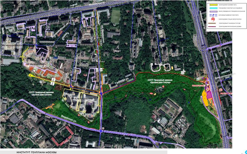Гжатскую улицу на западе Москвы продлят на 300 метров