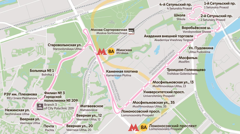 На западе Москвы появится автобусный маршрут П209 на время ремонта поликлиники