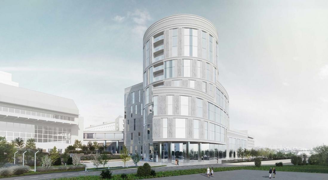 Здание МЦПИ построят на месте недостроя у Парка Горького