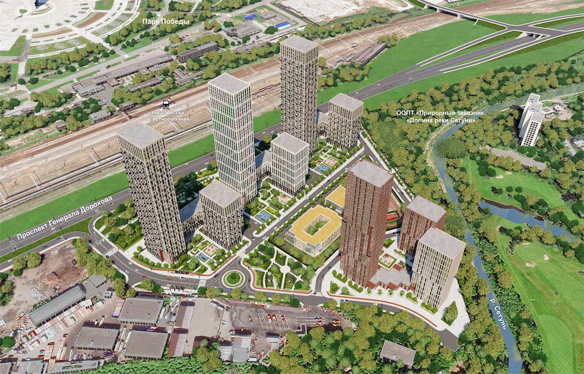 Очередной жилой комплекс построят в районе Раменки