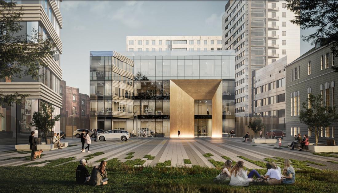Новый квартал появится при строительстве кампуса МГТУ имени Баумана