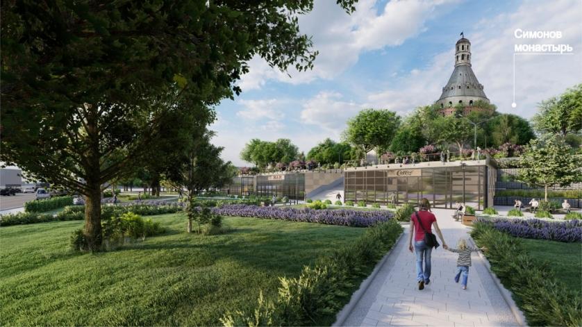 Представлен проект строительства участка Симоновской набережной на юге Москвы
