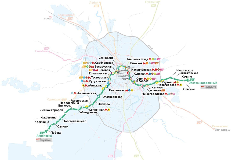 """Реконструкция участка """"Каланчевская"""" - Курский вокзал выполнена на 45%"""