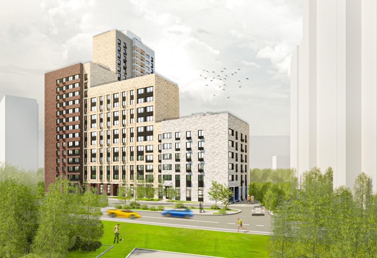 Дом на 209 квартир по реновации введут в Бескудниковском районе в 2022 году