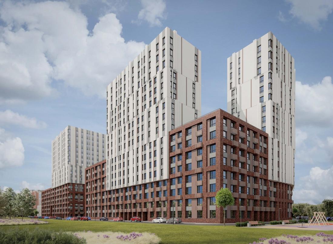 Жилой комплекс из двух корпусов построят в поселении Внуковское