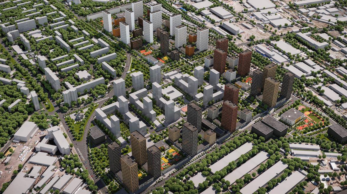 Жилой квартал с объектами социальной инфраструктуры построят на востоке Москвы