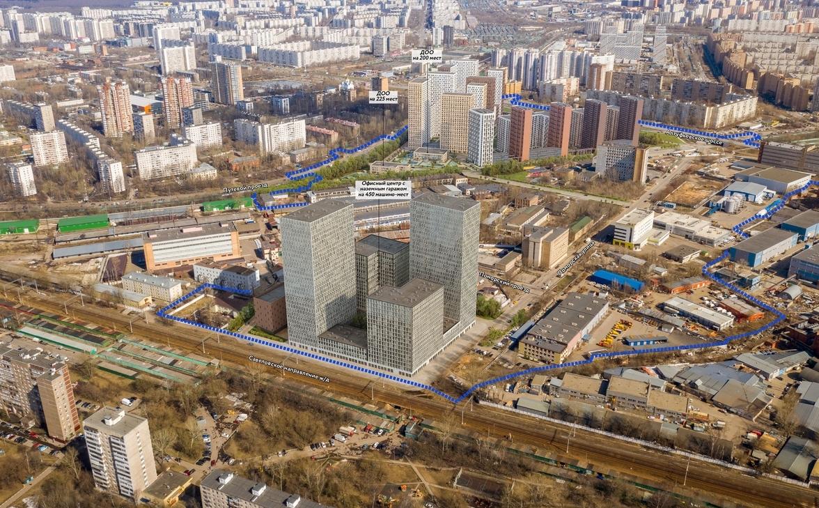 """Более 500 тысяч """"квадратов"""" недвижимости построят на северо-востоке Москвы"""