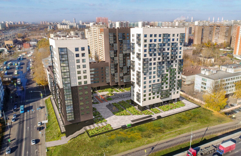 Дом по реновации на 272 квартиры введут в Западном Дегунино в 2022 году
