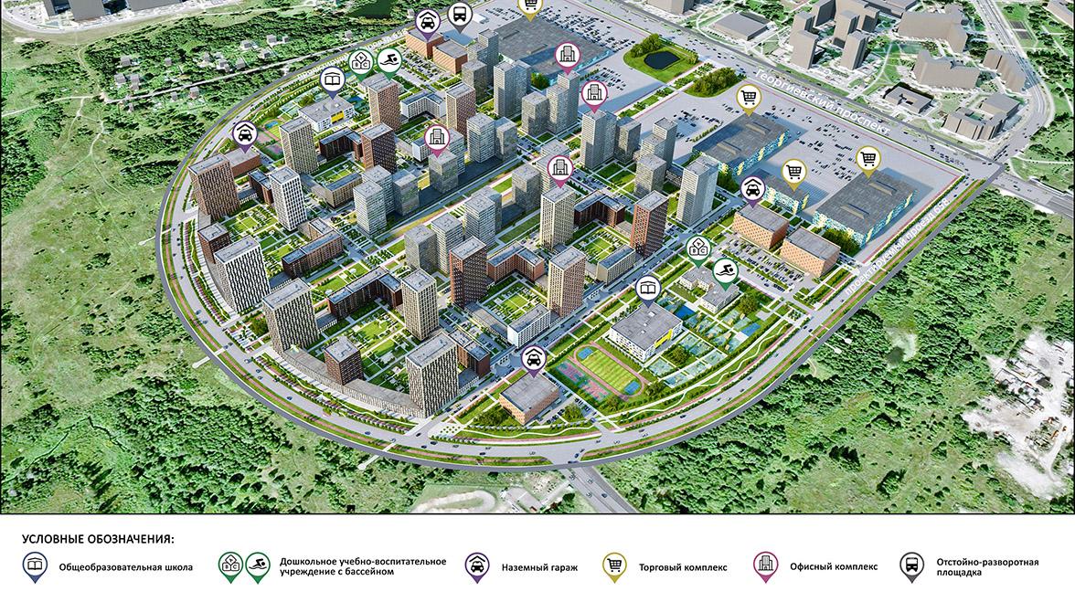 Крупный микрорайон появится в Зеленограде вместо промзоны ЦИЭ