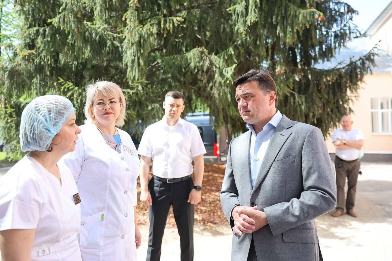 Капитальный ремонт взрослой поликлиники завершается в Чехове