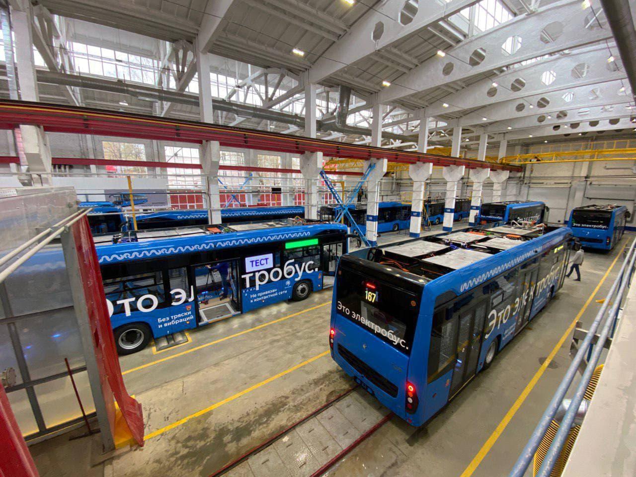 Первые электробусы московской сборки выйдут на маршруты в июне