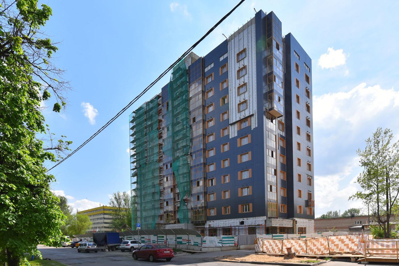 Дом по реновации в районе Кунцево на 80 квартир введут в 2021 году