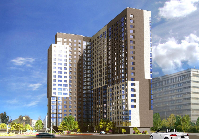 Дом по реновации на 318 квартир начали строить в Нагорном районе