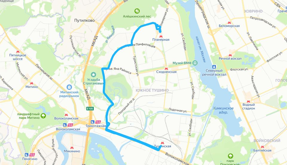 В Москве с 19-24 июня изменятся 8 автобусных маршрутов