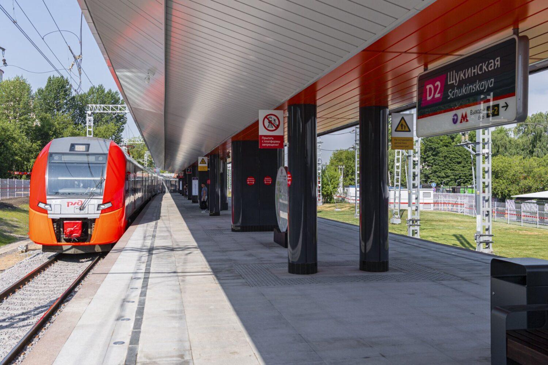 """Станция МЦД-2 """"Щукинская"""" заработала на северо-западе Москвы"""