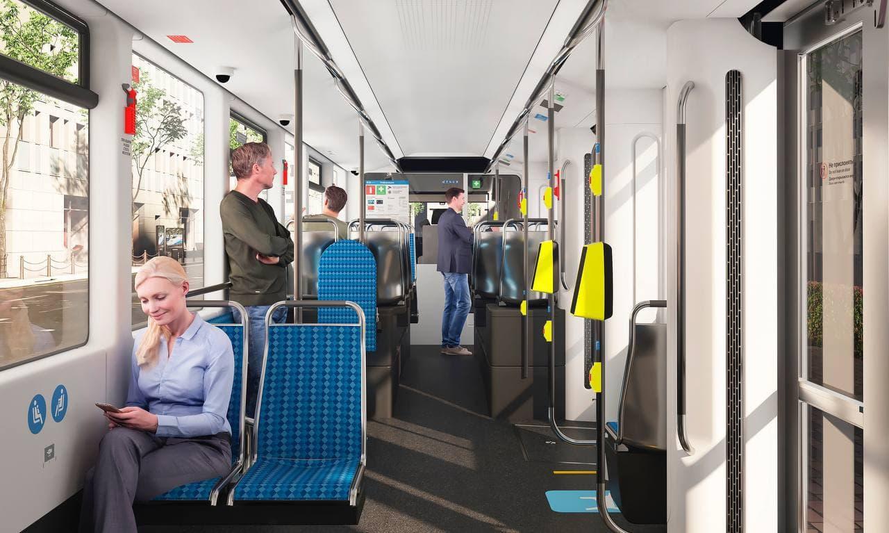Более 200 новых трамваев поставят в Москву до конца 2022 года