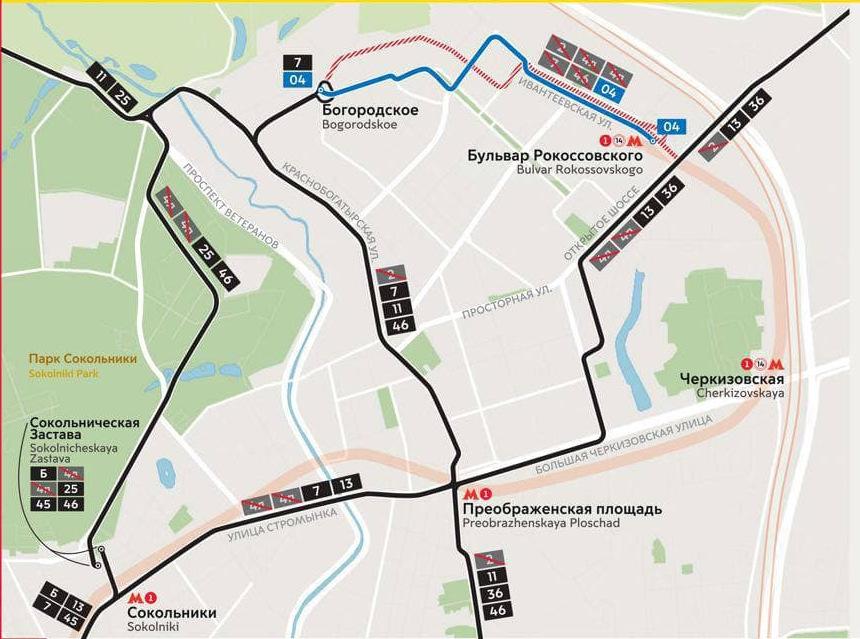 Трамваи в течение лета не будут работать по выходным в Богородском