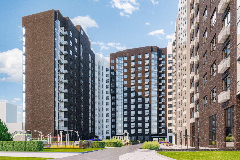 Дом на 349 квартир начали строить по реновации в районе Фили-Давыдково