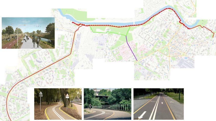Велосипедный маршрут вдоль реки Пахры планируется создать в Подольске