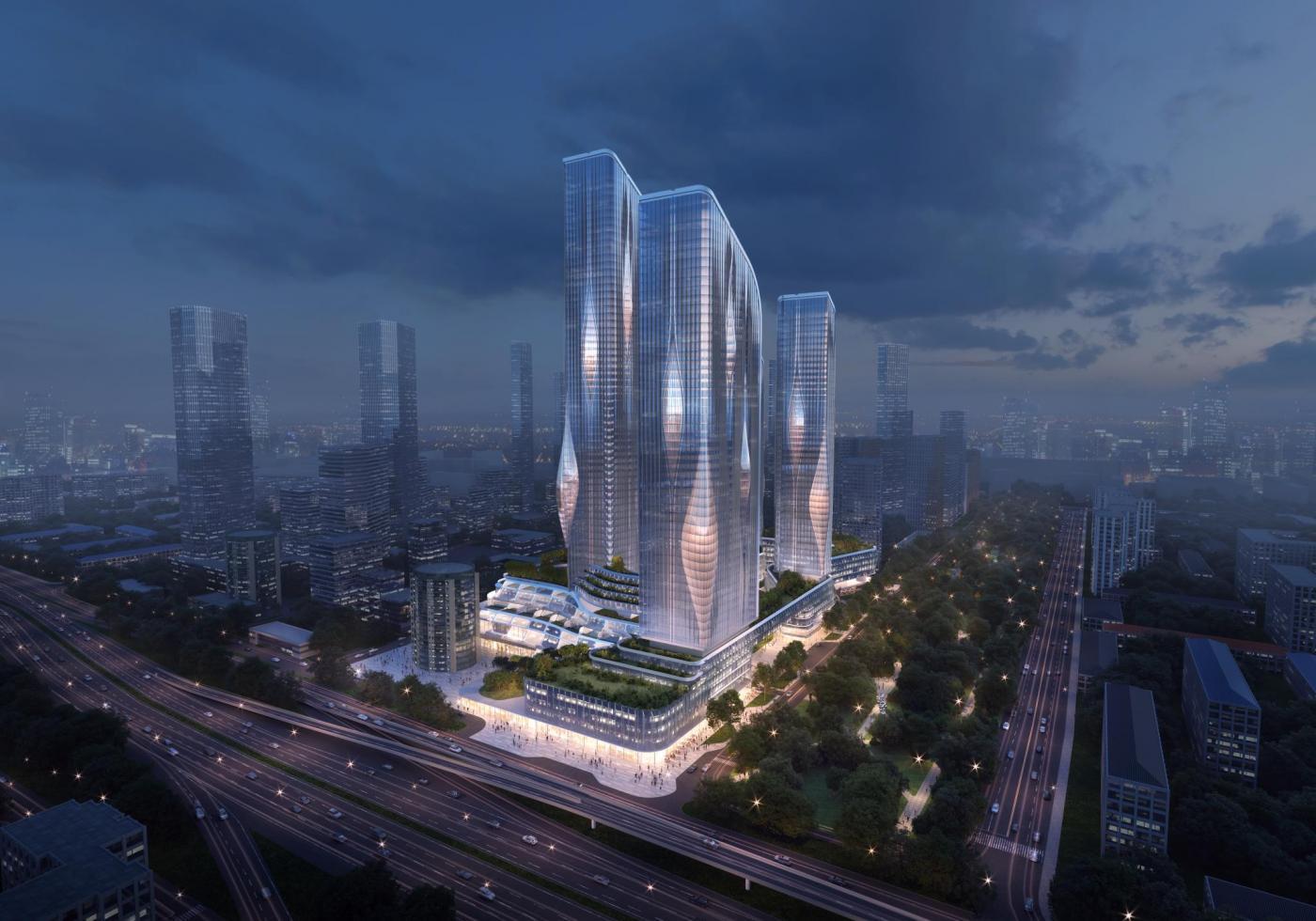 Жилой кластер по проекту Zaha Hadid Architects появится на северо-западе Москвы